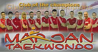 Treneri u Tkd klubu Marjan